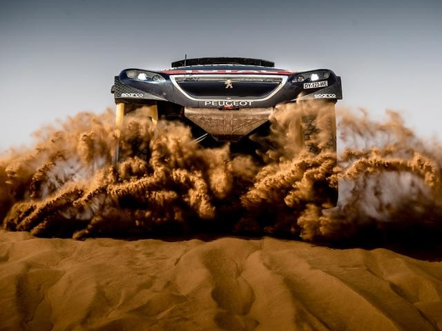 Peugeot 2008 DKR at Dakar