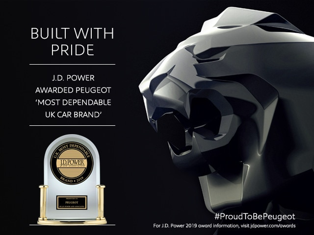 Peugeot Awards - J D Power