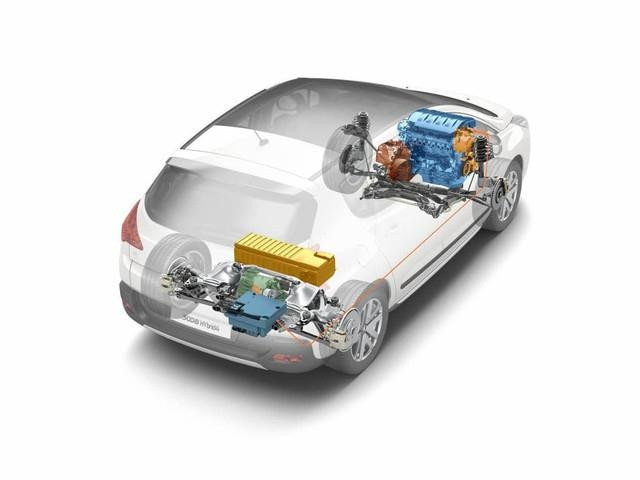 Peugeot 3008 Crossover hybrid4