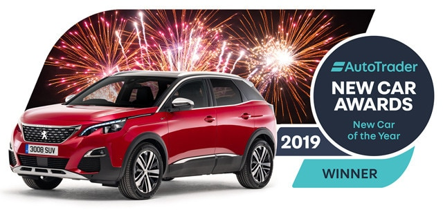 Peugeot 3008 SUV - New Car of the Year