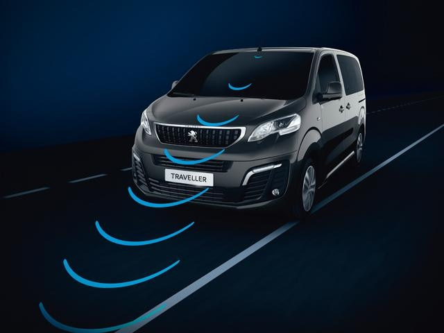 Peugeot Traveller lane departure warning system