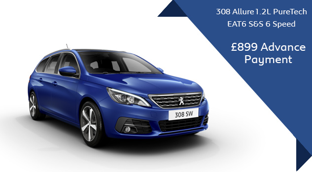 308 automatic Motability Offer