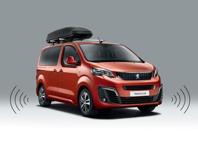 Peugeot Traveller parking sensors