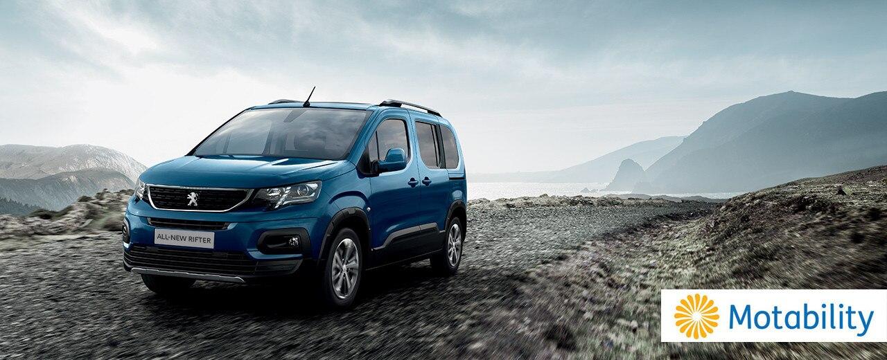 Motability - Peugeot Rifter