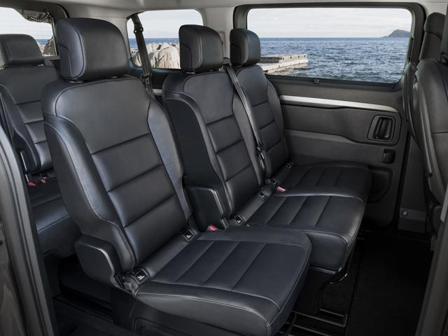 Peugeot Traveller modular seating