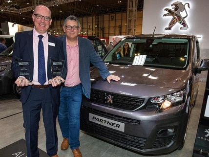 All-new Partner named Van of the Year 2019