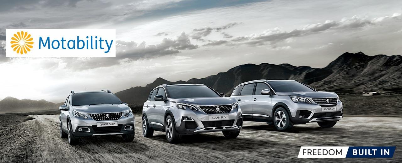 Peugeot SUVs for Motability