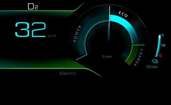 PEUGEOT SUV 3008 HYBRID4 - Electric modo