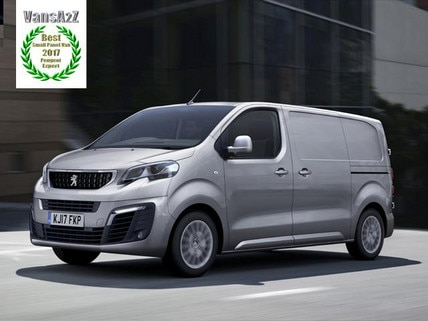Peugeot Expert wins small panel van of the year thumbnail