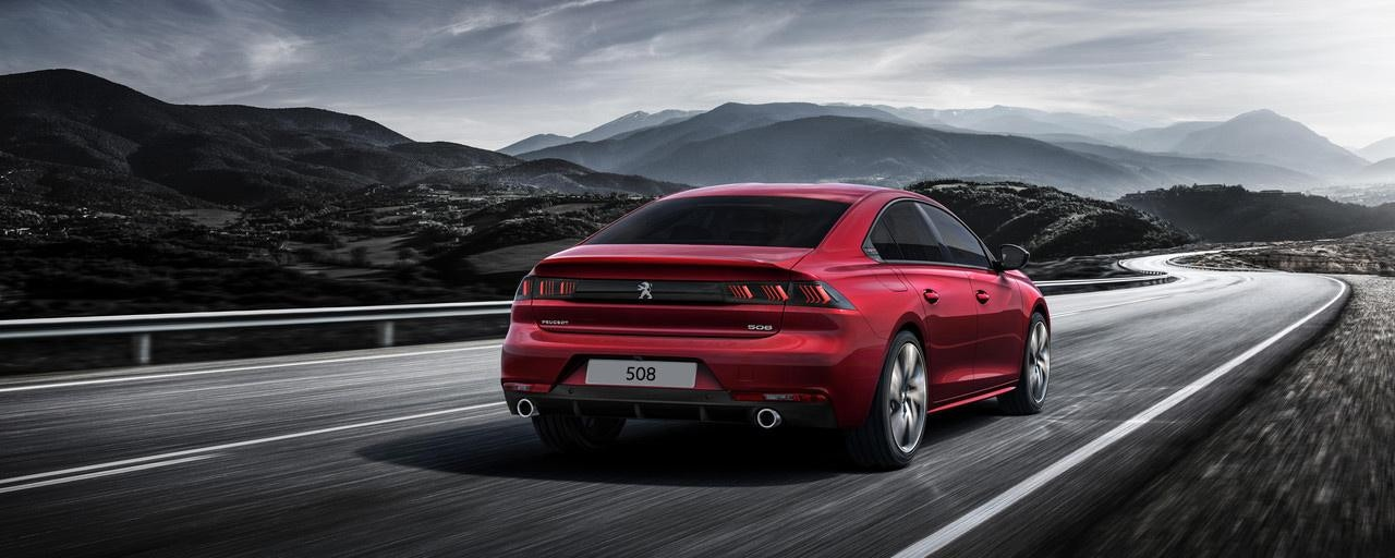 New Peugeot 508 2018 rear view
