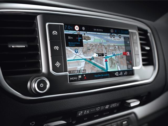Peugeot Traveller 3D navigation