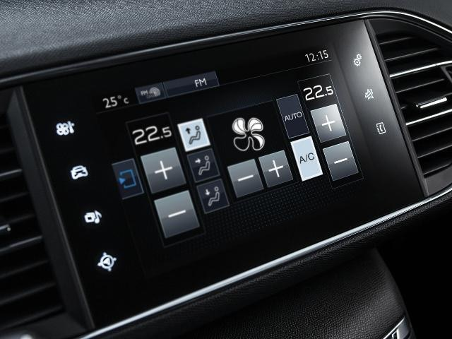 Peugeot air conditioning