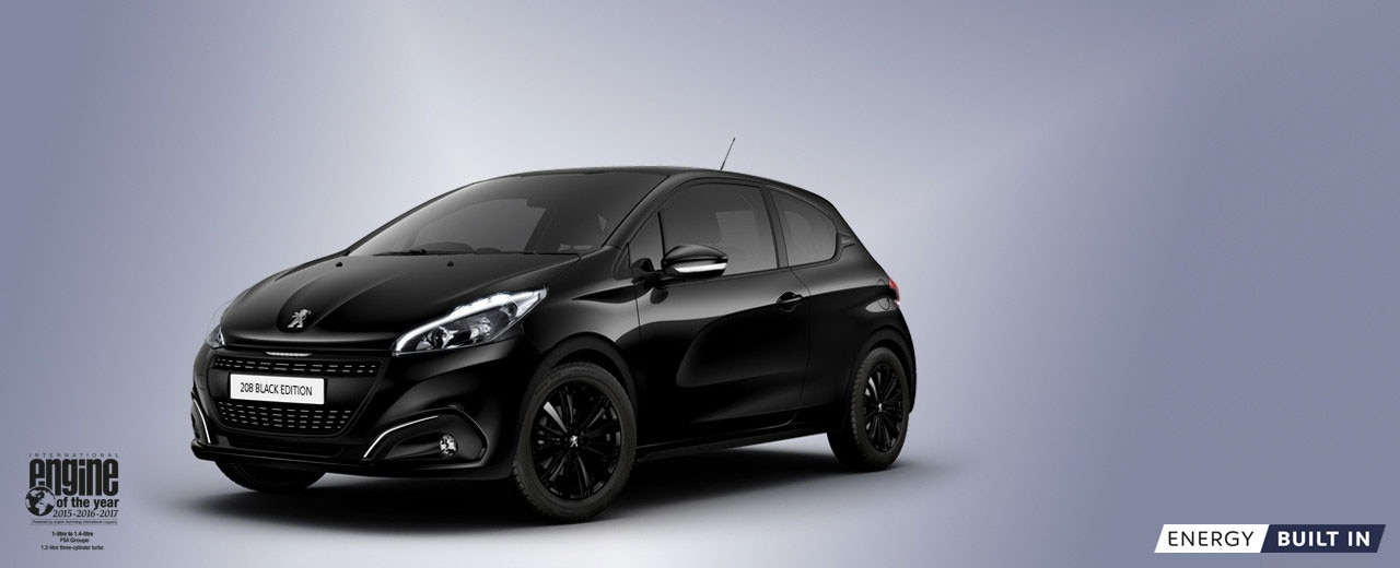peugeot 208 | black edition – peugeot uk