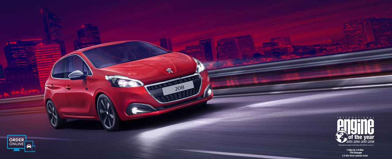 Peugeot 208 City Car - Engine of the Year Award Winner