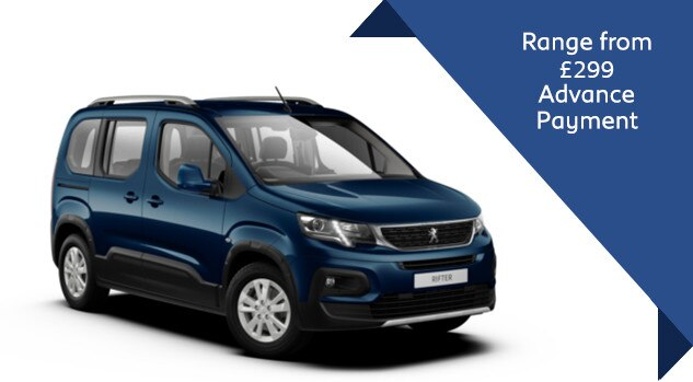 Peugeot Rifter Allure - Motability Offer