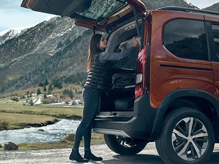 Peugeot Rifter - Adaptability