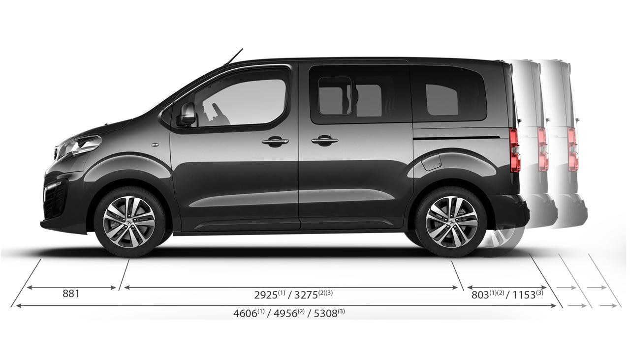 Technical Information | Peugeot Traveller | Peugeot UK