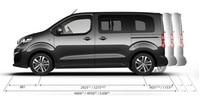 Peugeot Traveller dimensions
