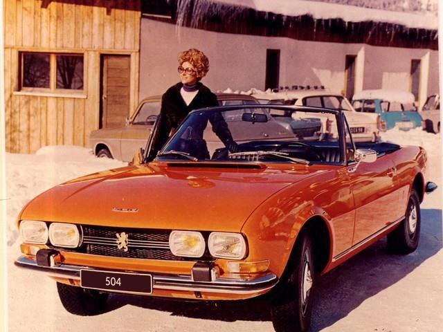 peugeot cabrio 504 history