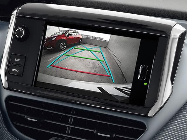 2008 SUV colour reversing camera