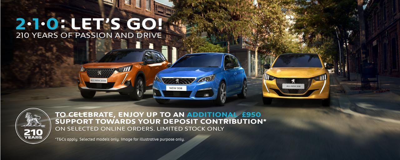 PEUGEOT-Celebrate-210-years-offer