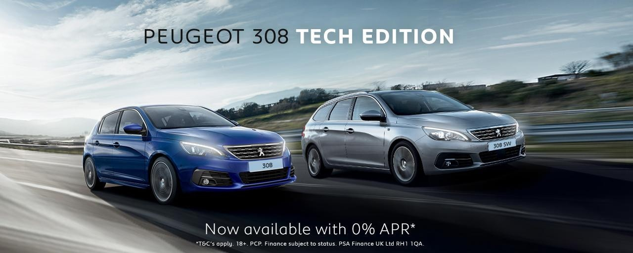 Peugeot 308 Tech Edition Range