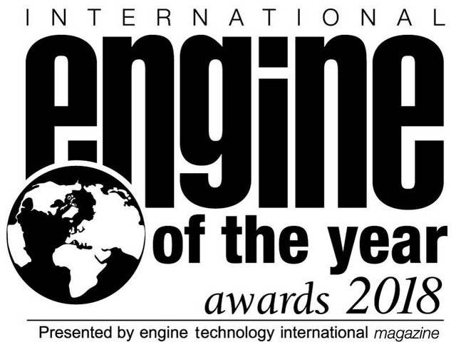 Peugeot Engine of the Year Logo 2018