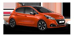 Peugeot 208 Allure Premium orange
