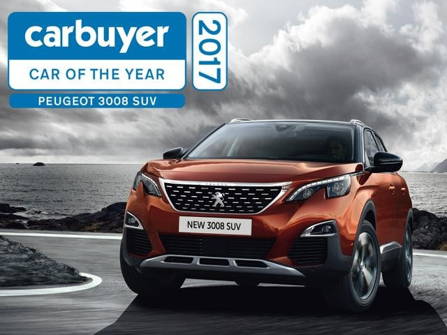 new 3008 suv carbuyer award