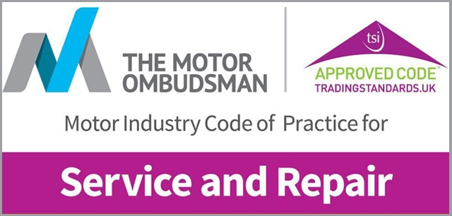 motor industry code of practice service repair