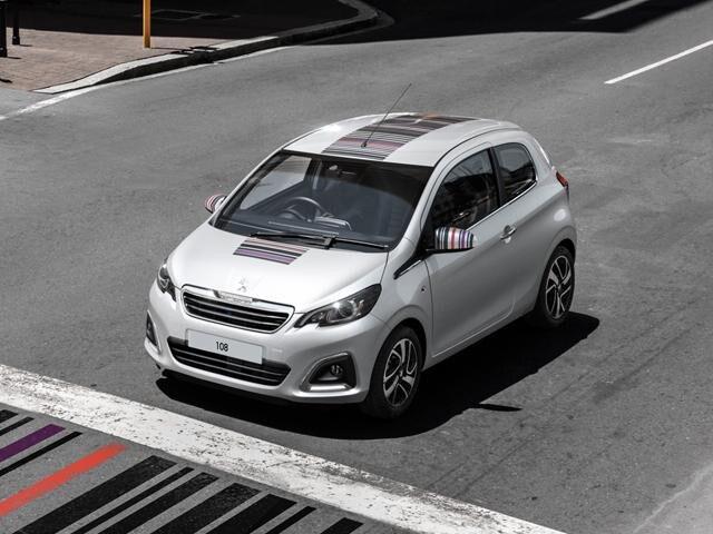 Peugeot 108 Barcode personalisation