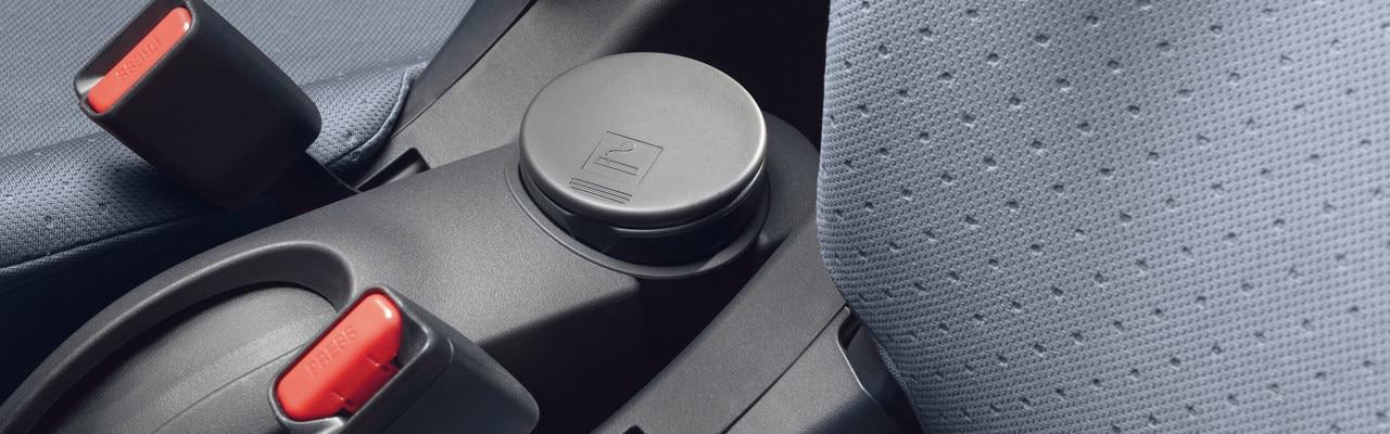 Peugeot iOn seatbelt sensors
