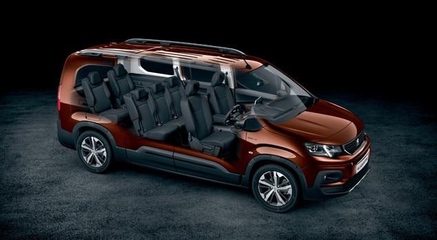 Peugeot Rifter GT Line - 7 Seats - Motability