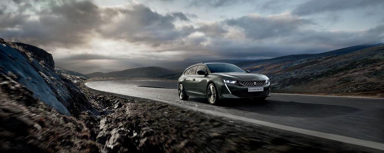 All-new PEUGEOT 508 SW: the radical estate with a striking design