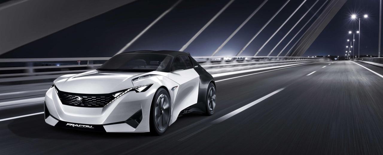 Peugeot Fractal concept banner