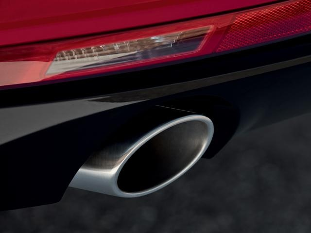 All-new Peugeot 508 Fastback exhaust pipe
