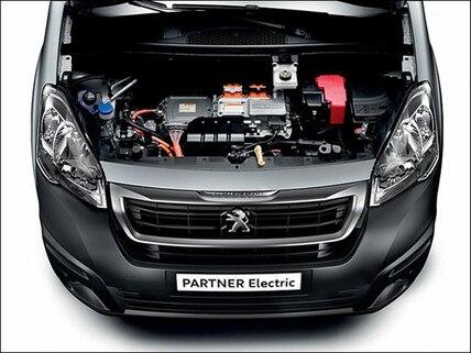 Peugeot electric van