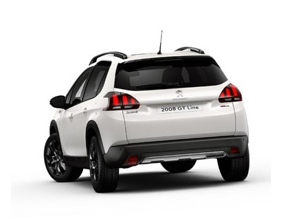 2008 SUV Black Pack rear view