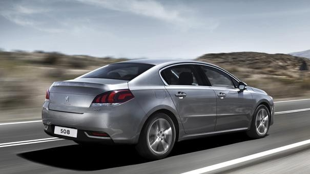 Peugeot 508 Saloon rear view