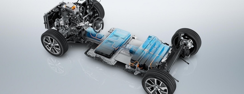 NEW PEUGEOT e-208 – Electric chassis