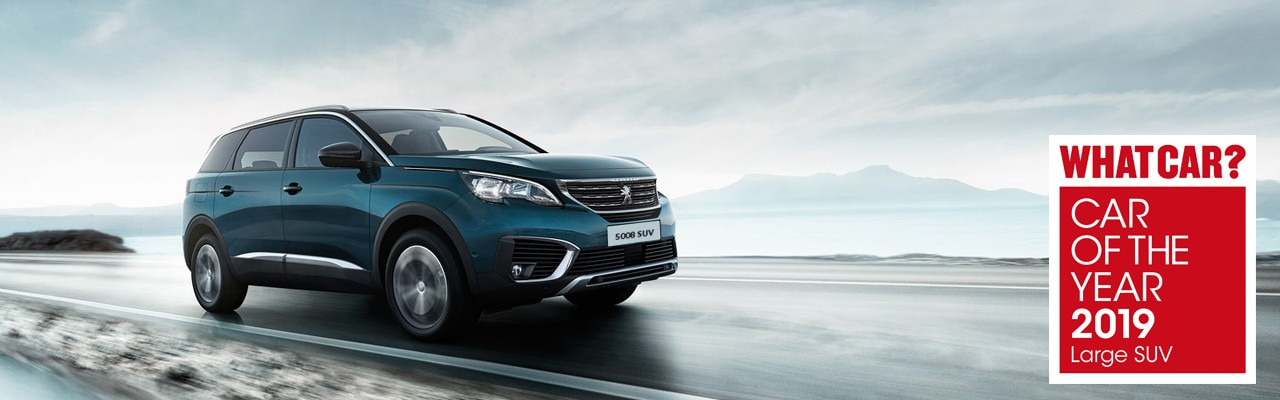 Peugeot 5008 awarded 'Large SUV of the year' 2019