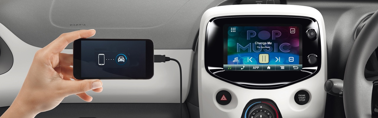 peugeot 108 hatchback technology peugeot uk. Black Bedroom Furniture Sets. Home Design Ideas
