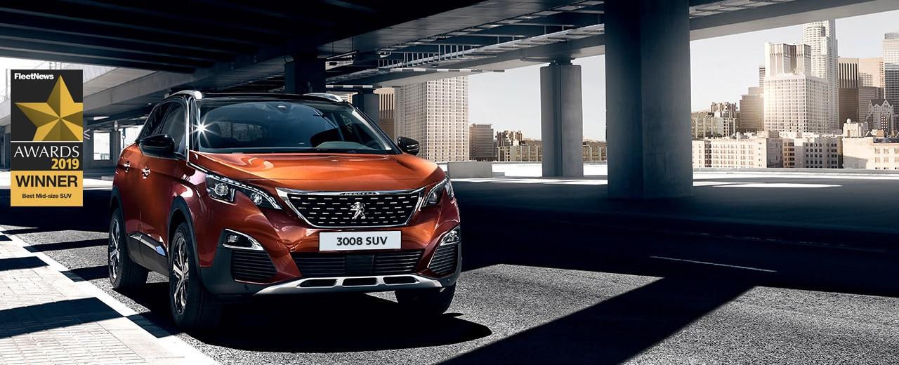 Peugeot 3008 SUV - Fleet Award