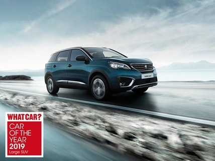 Peugeot 5008 awarded 'Large SUV of the year'