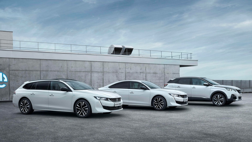 Gamme Hybrides Rechargeables Peugeot