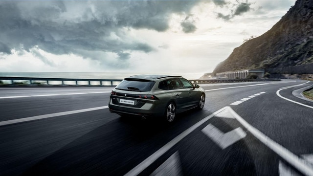 Al-new PEUGEOT 508 SW: the radical estate with a striking design