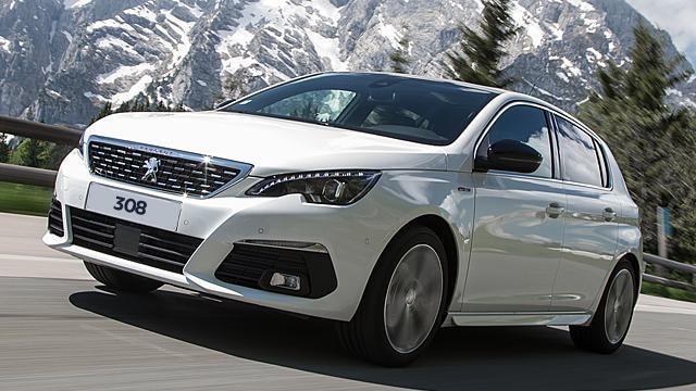 Peugeot 308 white