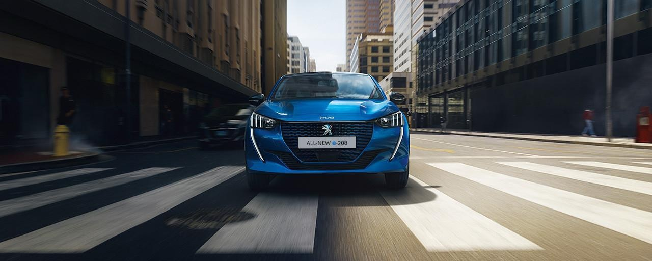 All-new e-208 - Electric City Car by PEUGEOT