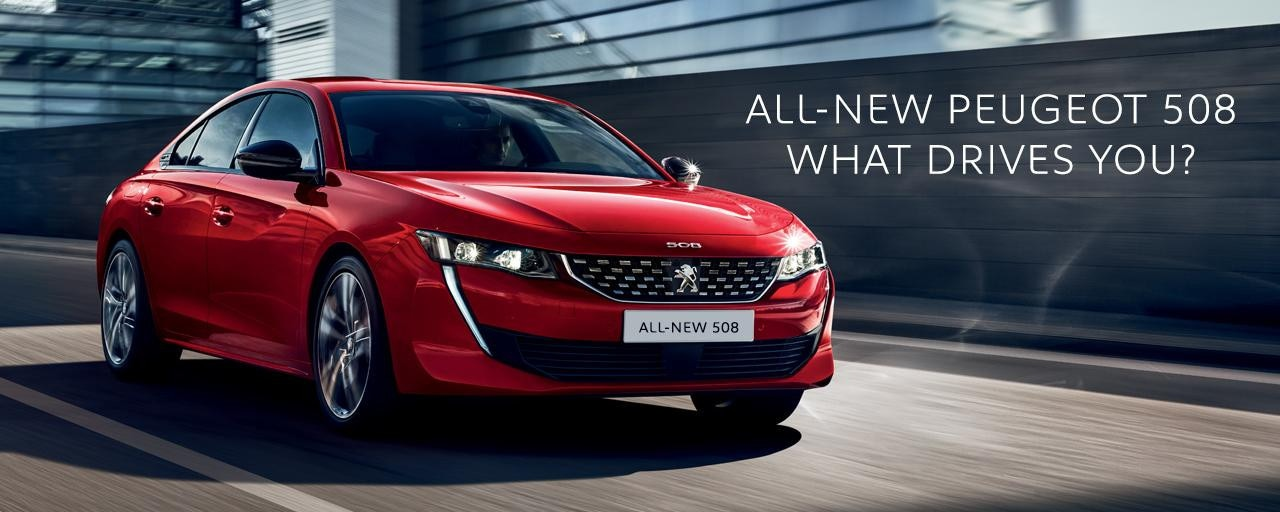 All-new Peugeot 508 Fastback - What drives you?