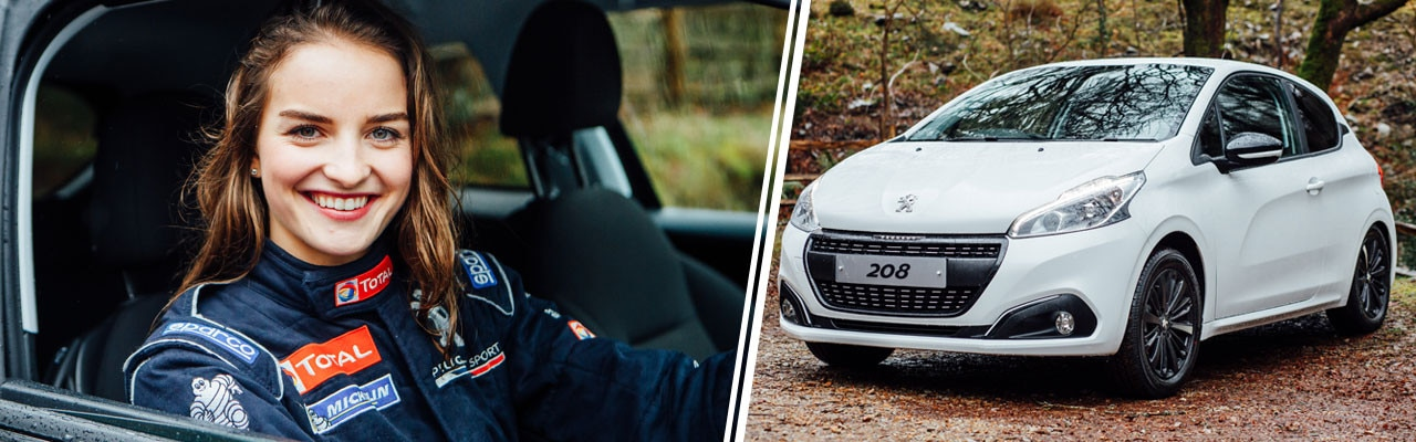 Catie Munnings announced as a Peugeot brand ambassador banner
